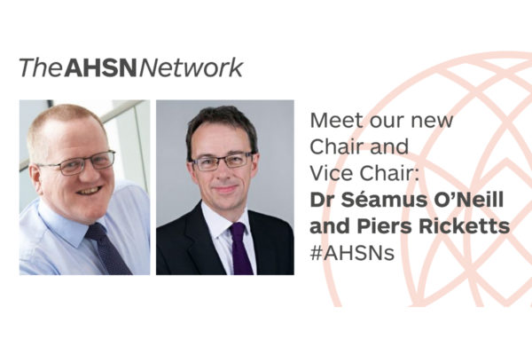 New AHSN Chair and Vice Chair