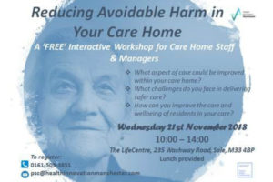 Care Home Event 21.11.18 Advert