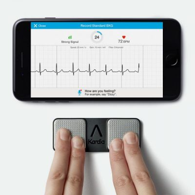 Kardia Mobile with Phone (From AliveCor)