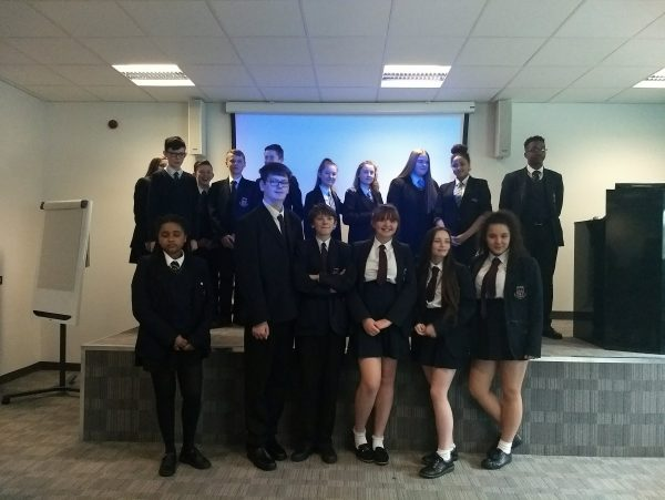 Pupils in Salford at The Innovation Factor