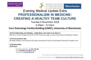 6.11.18 RCPE Manchester Event