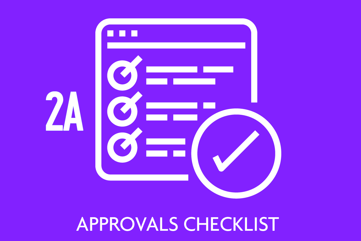 Approvals Checklist Icon