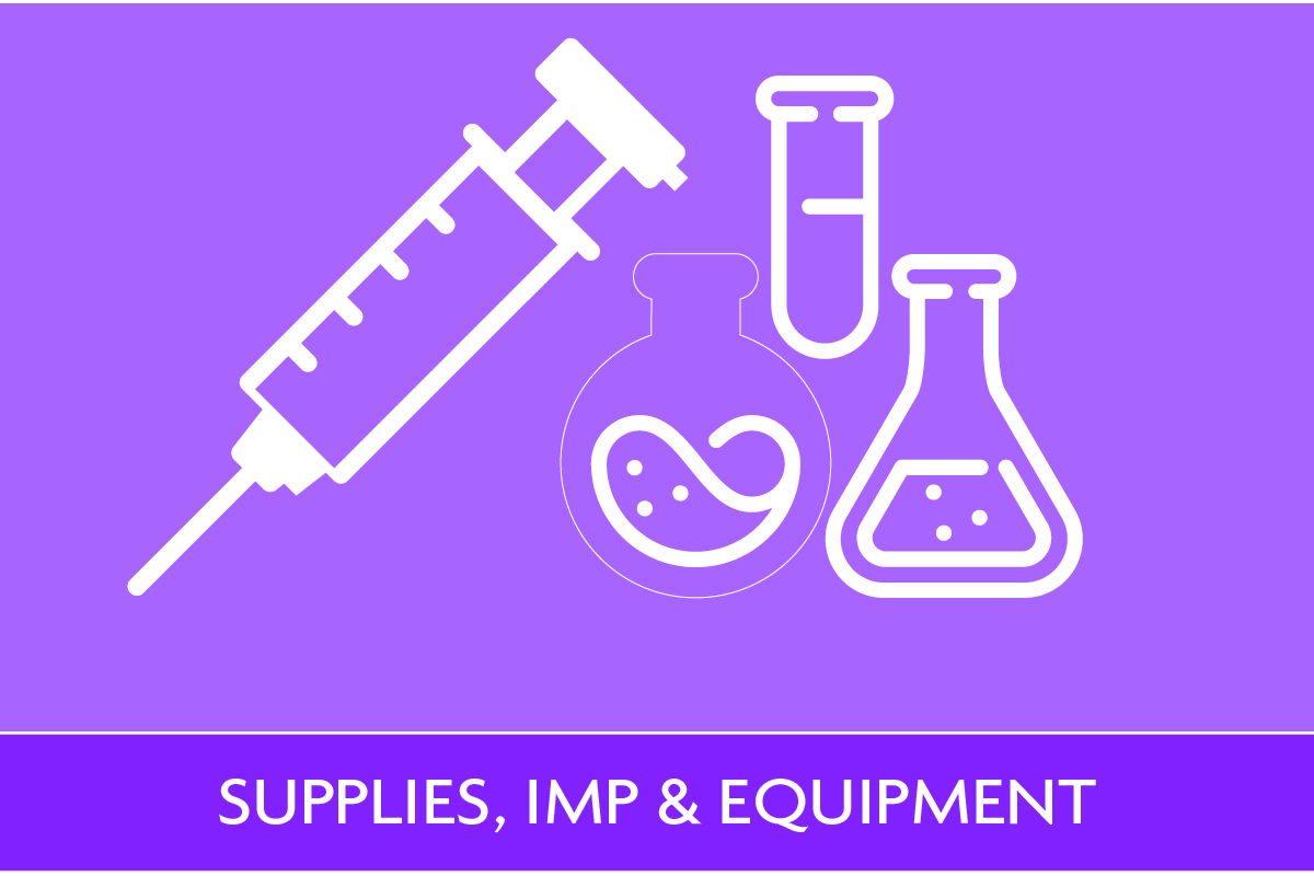 Supplies, IMP & Equipment Icon