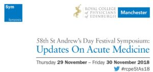 RCPE Manchester Event Acute Medicine Advert