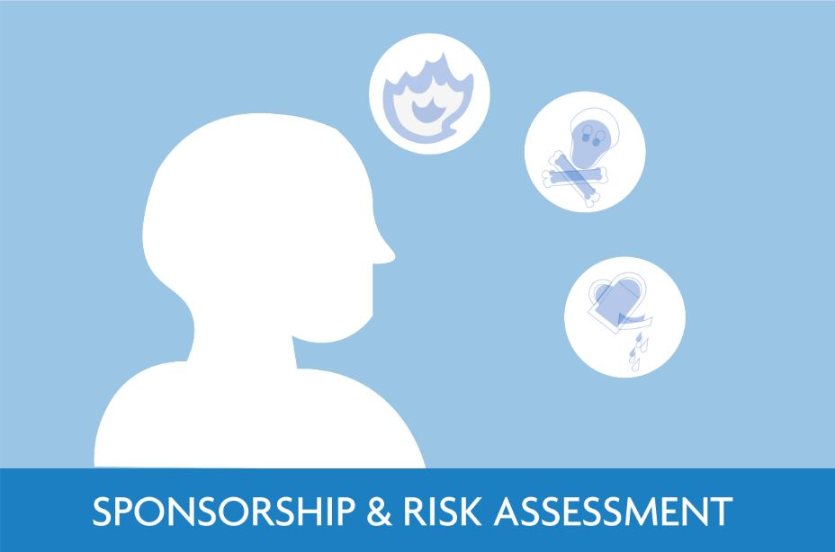 Sponsorship Risk Assessment Icon