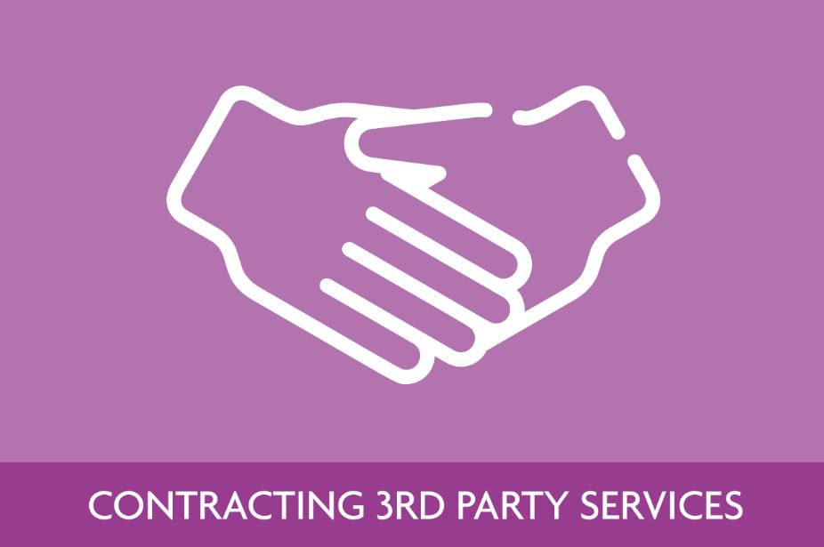 Contracting 3rd Party Services