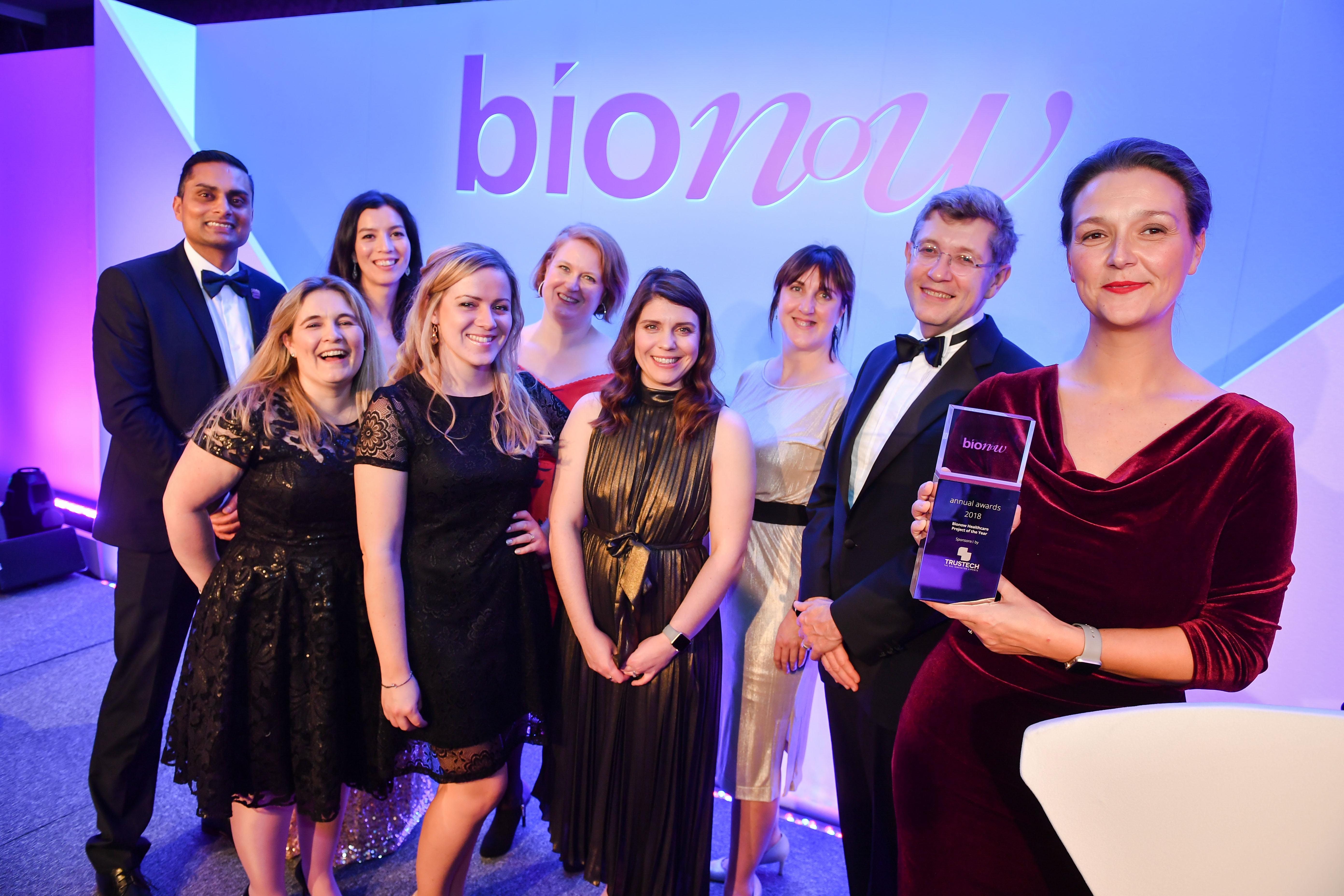 Bionow Healthcare Project Winner Team