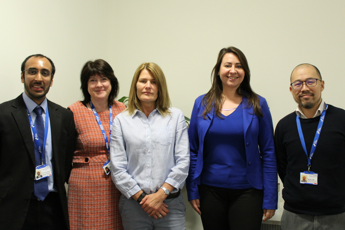 The Greater Manchester and Eastern Cheshire Patient Safety Collaborative Team