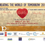 Creating the world of tomorrow Rome conference advert