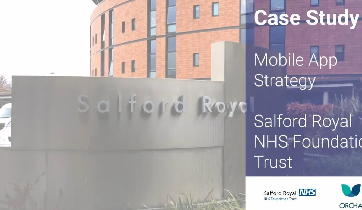 Case Study: Mobile All Strategy in Salford Royal NHS Foundation Trust