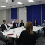 NHS National Director of Patient Safety Aidan Fowler meets the Greater Manchester and Eastern Cheshire Patient Safety Collaborative for discussions