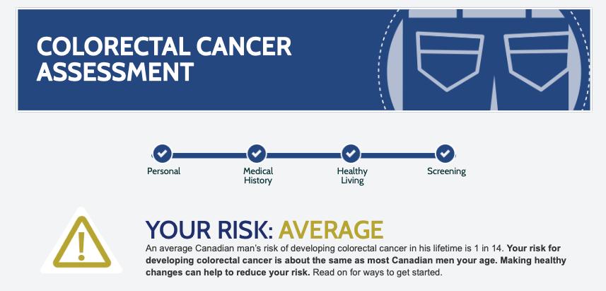 Professor Ben Bridgewater Colorectal Cancer Assessment Score Average