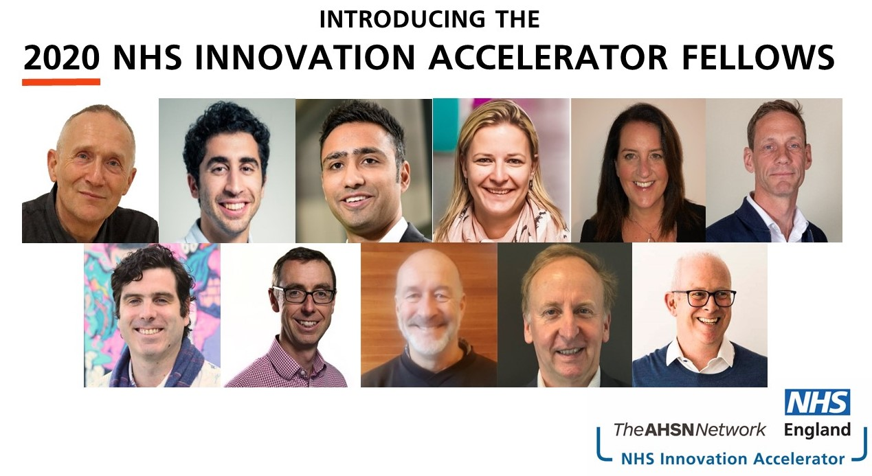 2020 NHS Innovation Accelerator Fellows