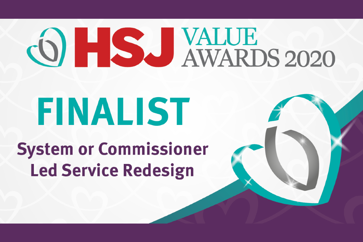 HSJ Value Awards 2020