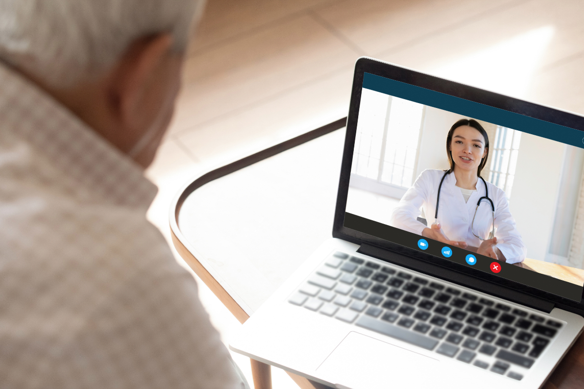 Digital video doctor appointment