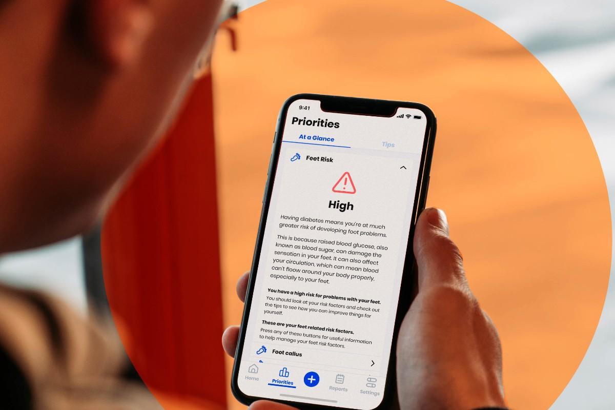Gendius App in use on mobile phone