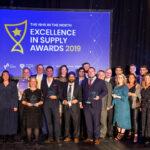 Award winners at the EIS Awards.