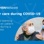 The AHSN Network Safer care during COVID-19 report cover