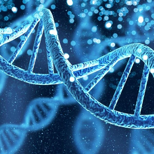 Artist impression of DNA
