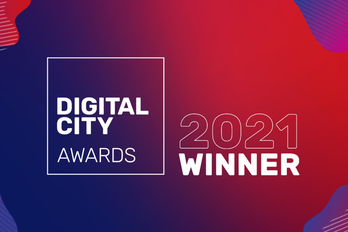 Graphic: Digital City Awards 2021 Winner