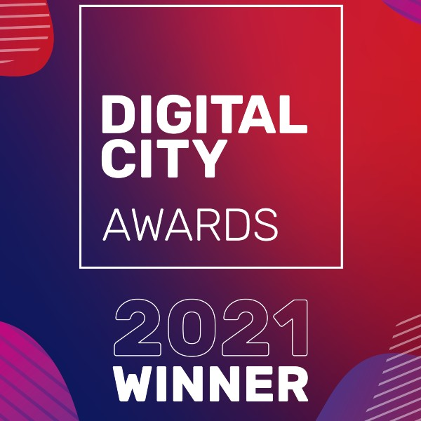 Graphic: Digital City Awards 2021 Winner